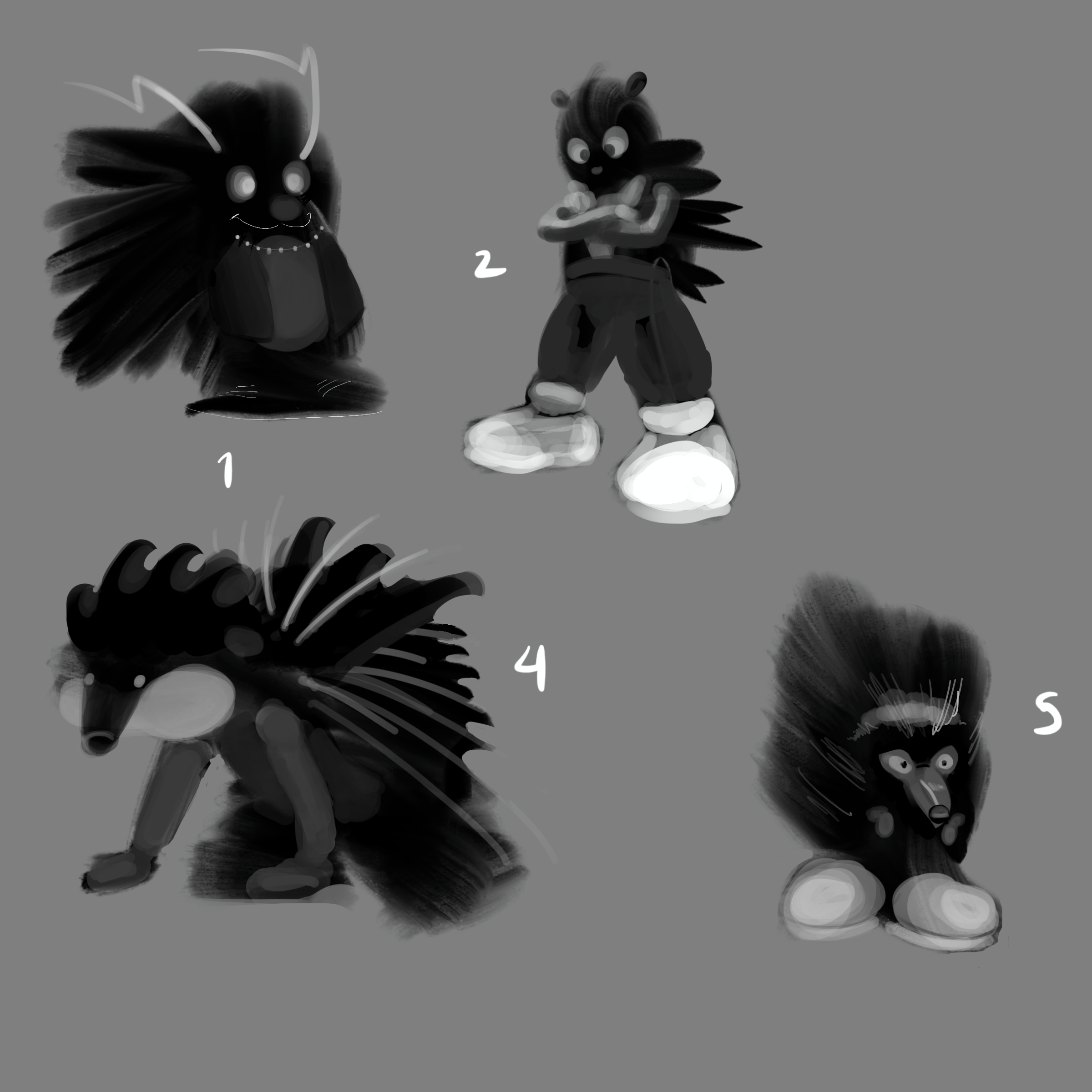 Talking Up a Blue Streak About Character Design